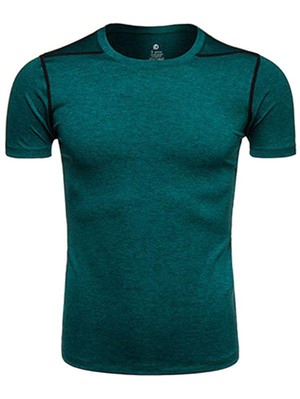 Suture Design Crew Neck Quick Dry Training T-shirt voip оборудование grandstream gxp2170