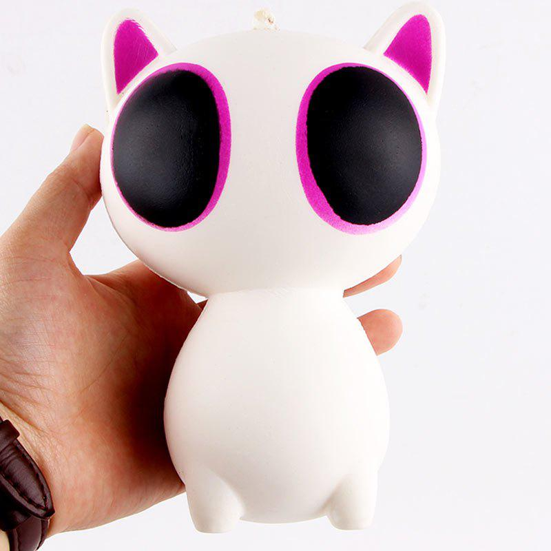 Cartoon Big Eyes Cat Slow Toy - PURPLE