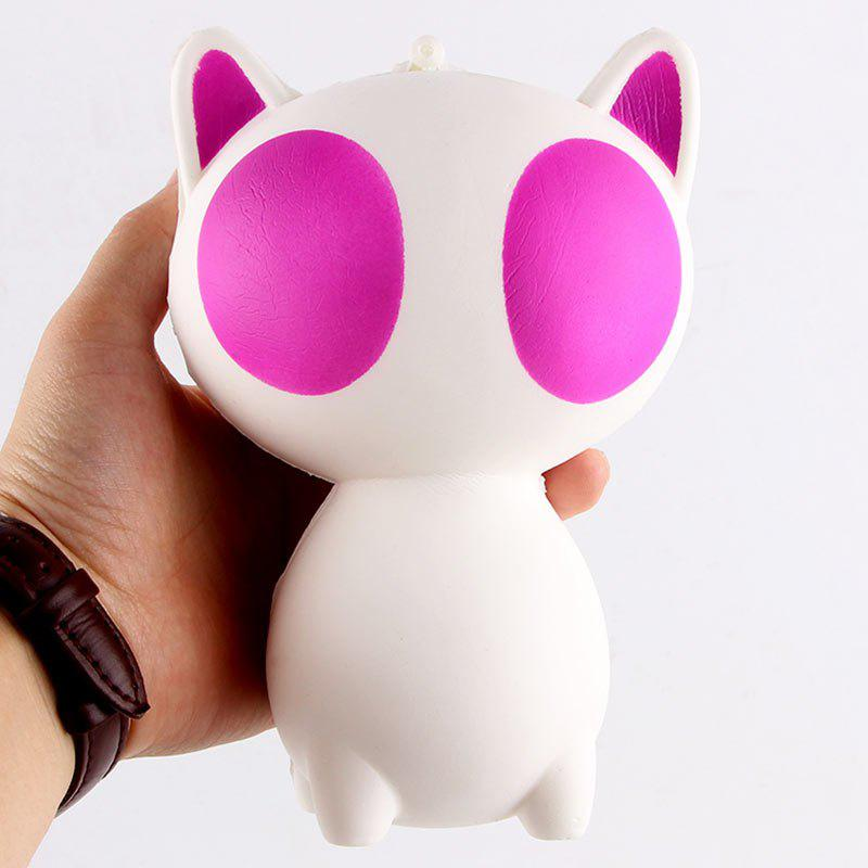 Cartoon Big Eyes Cat Slow Toy - PINK