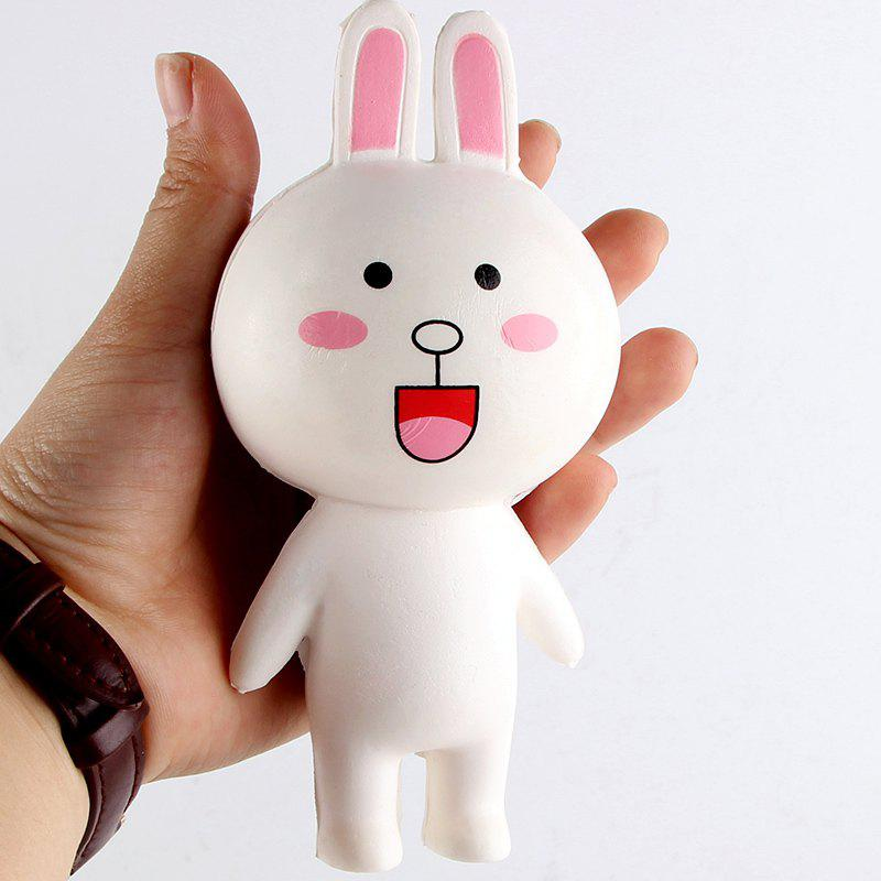 Rabbit PU Slow Rising Cartoon Animal Squishy Toy mini cartoon rabbit tpr squishy toy