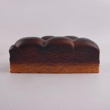 Slow Rebound Large Squishy Bread Decompression Toy -  BROWN