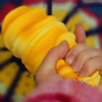 Simulation Bread PU Squishy Toy - YELLOW YELLOW