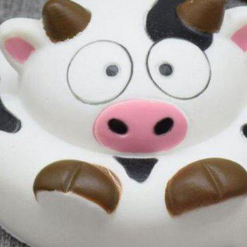 Simulation Milk Cow Cartoon Slow Rising Squishy Toy -  BLACK WHITE