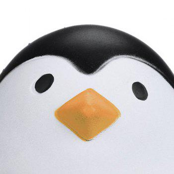 Cartoon Penguin Squishy Animal Slow Rising Simulation Toy - BLACK