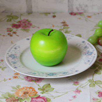 Artificial Foam Simulation Fruit Decorative Apple -  GREEN