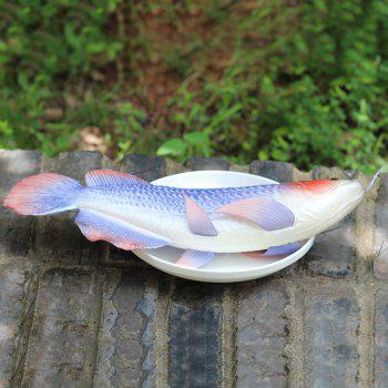 Simulation Toy PU Arowana Model - BLUE