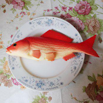 Squishy Toy PU Simulation Carp Model - RED RED