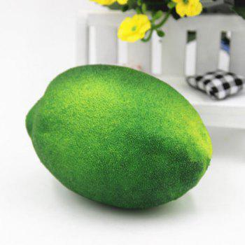Simulated Lemon Shape Squishy Toy - GREEN GREEN