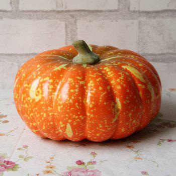 Foam Simulation Vegetable Artificial Decorative Pumpkin - MANDARIN