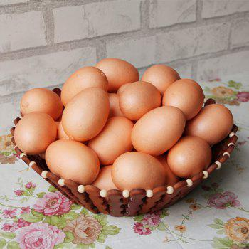 1 Pcs Artificial Foam Decorative Simulation Egg -  YELLOWISH PINK