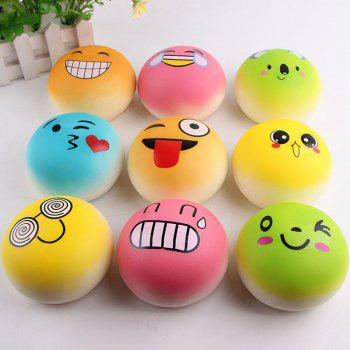 Slow Rising Emoji Bread Shape Squishy Toy