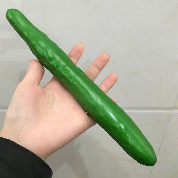 Foam Vegetable Decorative Artificial Simulation Cucumber -  APPLE SLICE