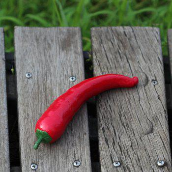 1 Pcs Artificial Foam Vegetable Decorative Simulation Cayenne Pepper -  RED