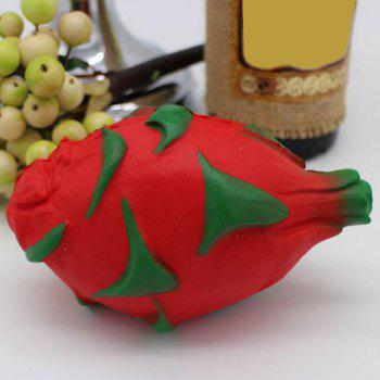 Pitaya Slow Rising Squishy Toy Simulation Fruit - RED RED
