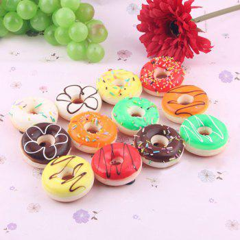Random Simulated Doughnut Squishy Toy - RANDOM COLOR