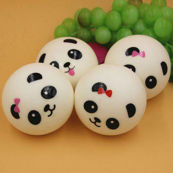 Random PU Cartoon Panada Squishy Toy - RANDOM COLOR RANDOM COLOR