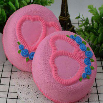 Love Heart Cake Slow Rising Squishy Food Simulation Toy -  PINK