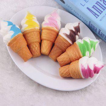Random Ice Cream PU Squishy Toy