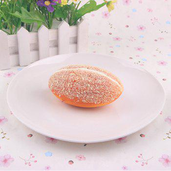 Early Education Prop Squishy Toy Simulation Bread -  PASTER ORANGE