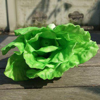 Artificial PU Simulation Decorative Vegetable - GREEN
