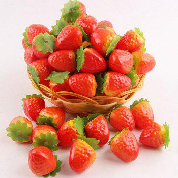 100Pcs Wedding Party Decor Simulation Strawberries