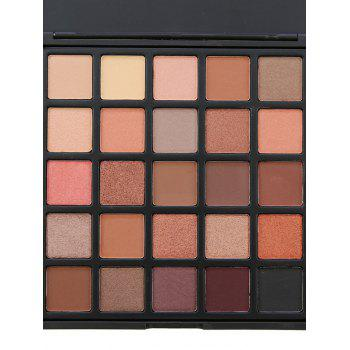 25 Colors Smoky Eyeshadow Palette -