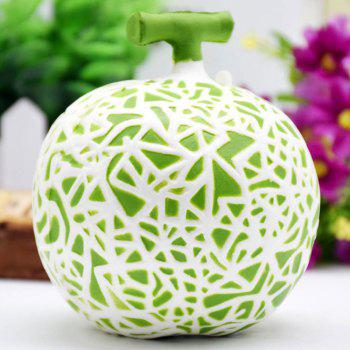 Squishy Decoration Craft Artificial Dew Melon Toy