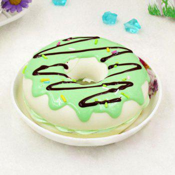 Home Decor PU Sweet Donut Model Squishy Toy