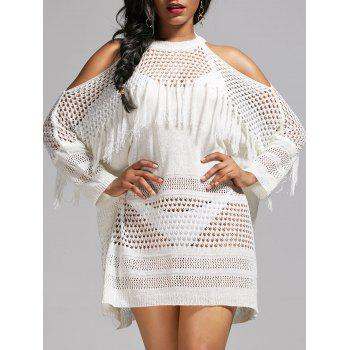 Crochet Cold Shoulder Cover Up