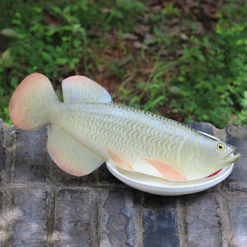 Simulation Toy PU Arowana Model - Argent