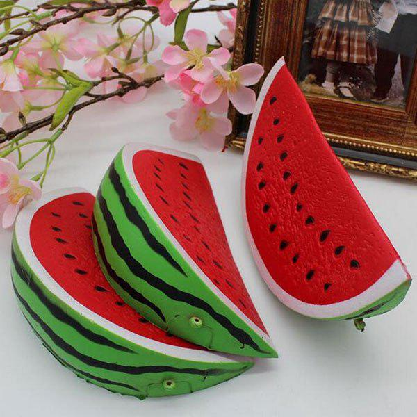 Watermelon Pastoral Fruit Slow Rising Squishy Toy - RED