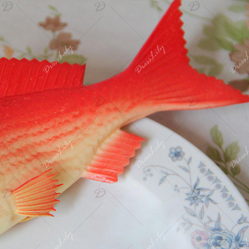 Squishy Toy PU Simulation Carp Model - RED