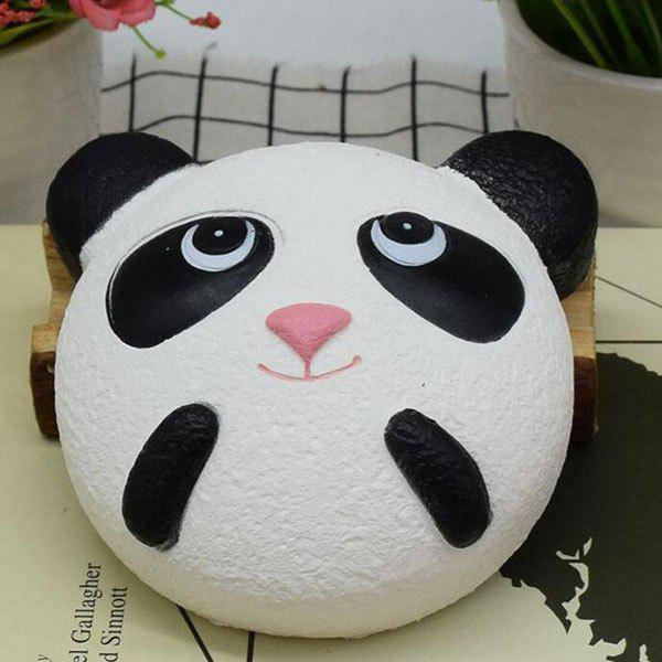 Slow Rising Panda Cartoon Simulation Toy Squishy Animal - Blanc Noir