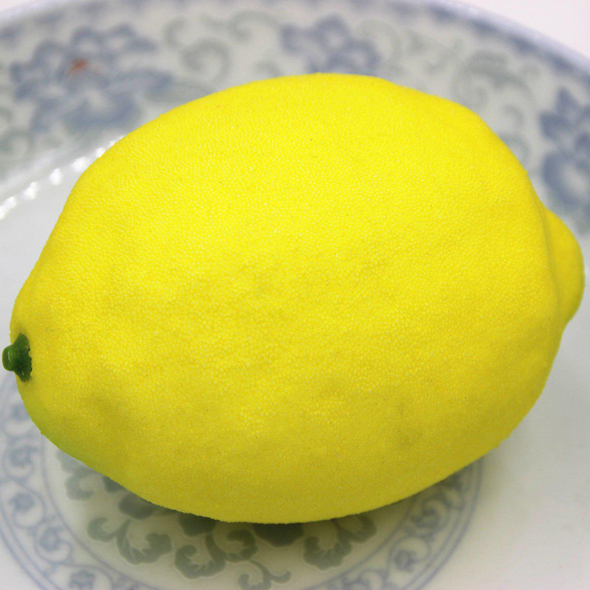 2018 Simulated Lemon Shape Squishy Toy YELLOW In Squishy Toys Online Store. Best Square Shape ...