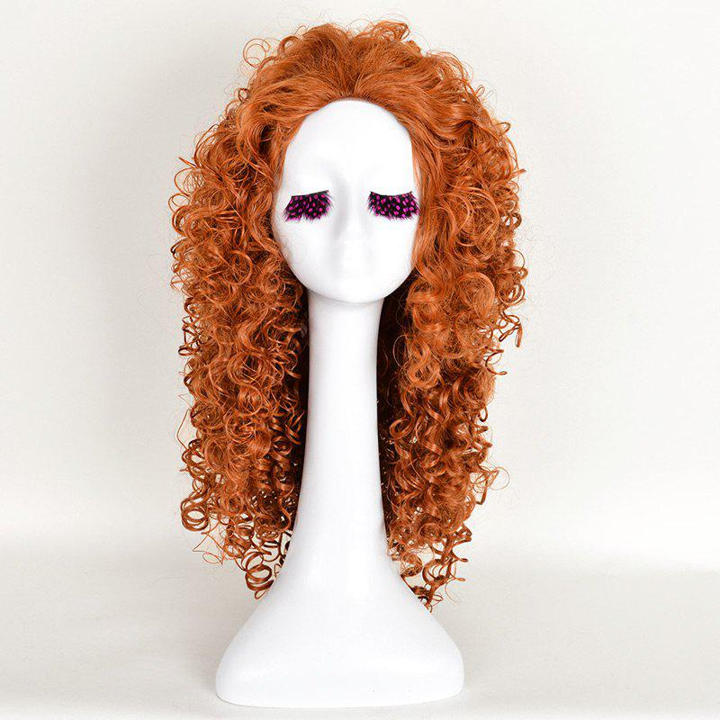 Long Curly Shaggy Brave Mavis Anime Cosplay Synthetic Wig cosplay wig 2015 new movie princess cinderella wig long curly ash blonde anime cosplay wig free shipping