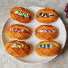 1 Pcs PU Squishy Toy Simulation Butter Bread Model - Jaune