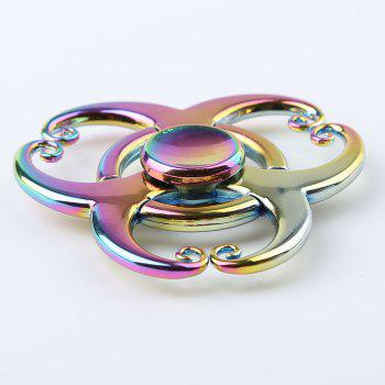 Colorful EDC Fidget Metal Spinner FocusToy - multicolorcolore