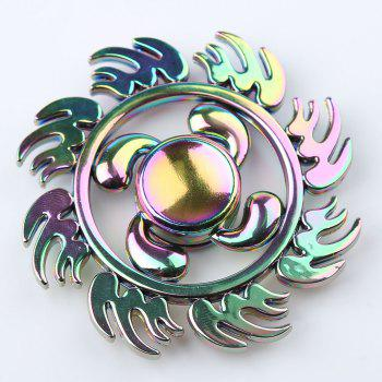 Fire Wheel Colorful EDC Fidget Metal Spinner -  COLORMIX