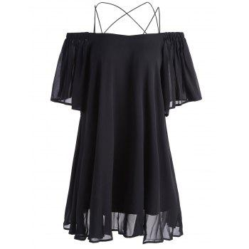 Mini Chiffon Spaghetti Strap Dress