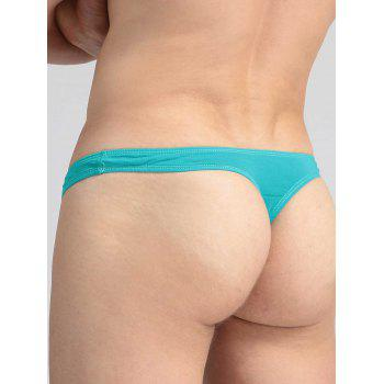 Elephant Nose Convex Pouch Elastic Waist T Back - GREEN XL