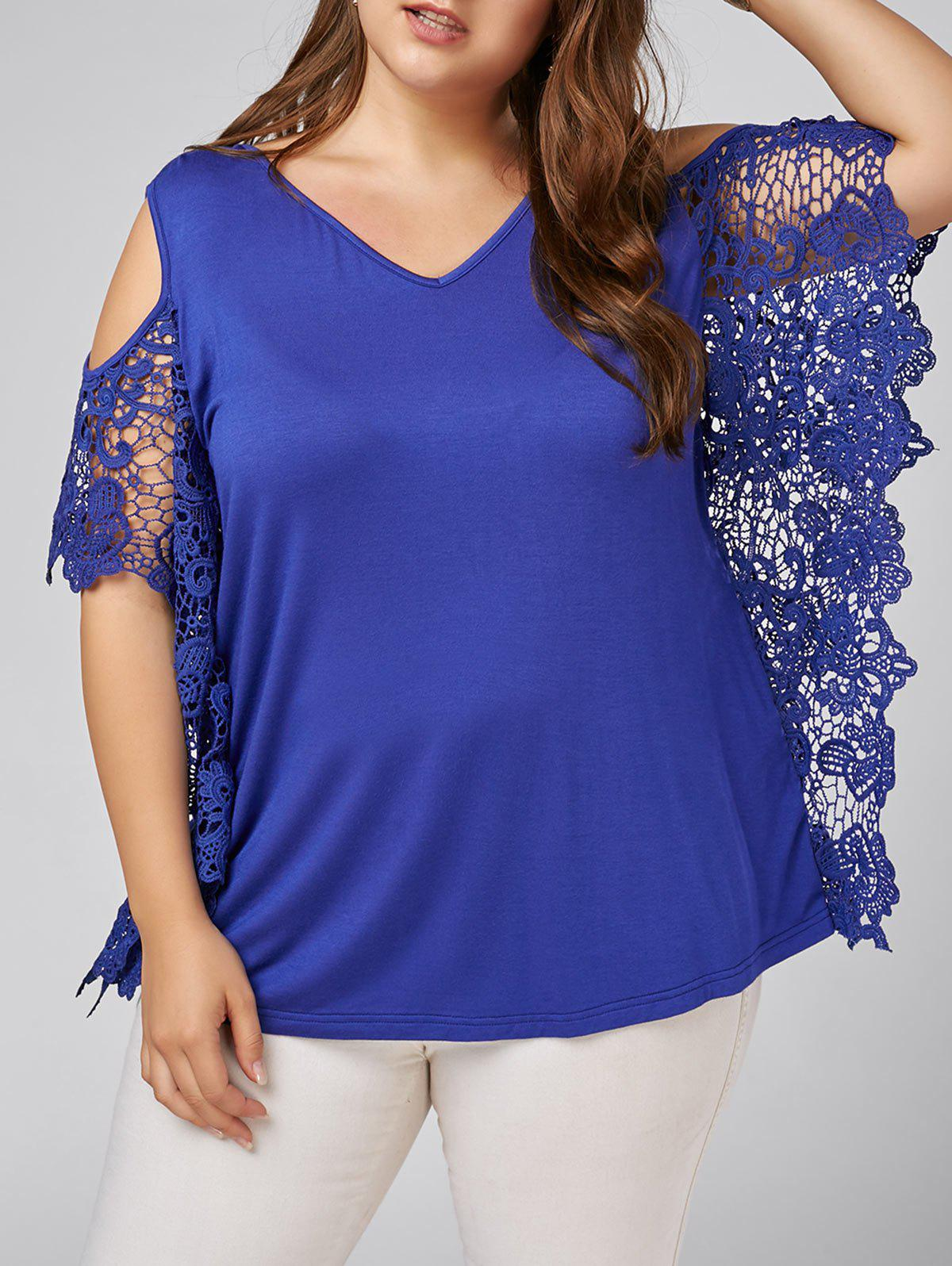 Plus Size Butterfly Sleeve Cold Shoulder Blouse inc new blue green women s size xs cold shoulder sleeve beaded blouse $59