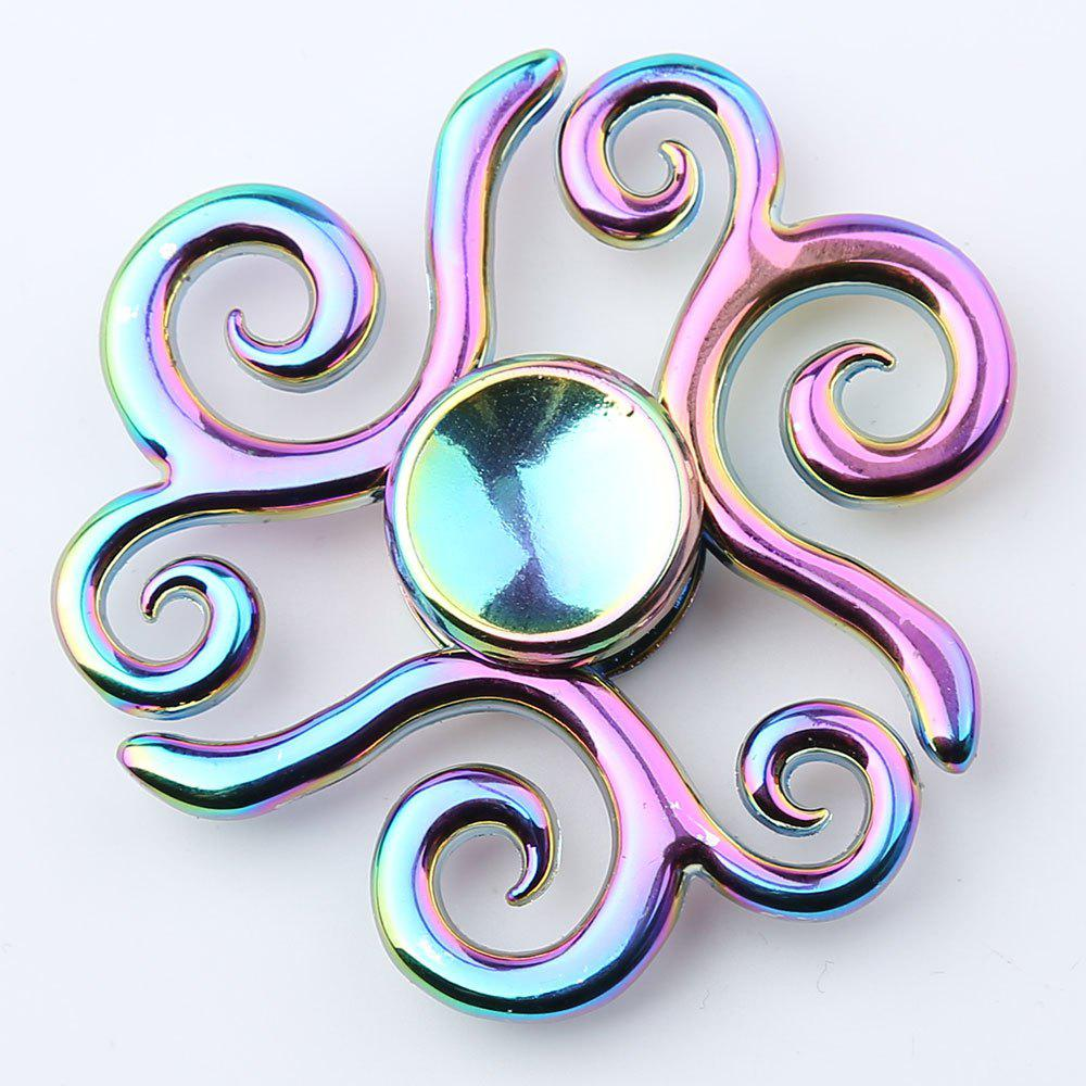 Propitious Cloud Colorful EDC Fidget Metal Spinner - multicolorcolore