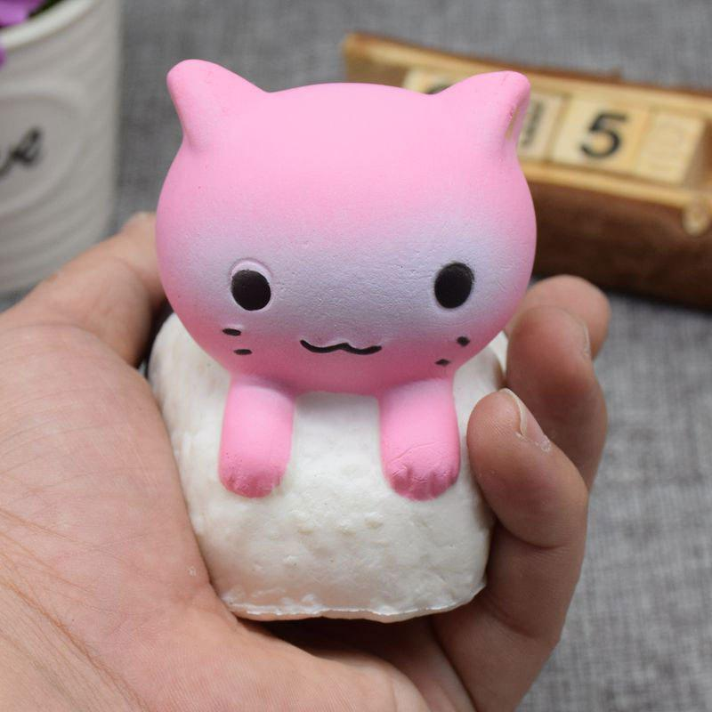 Animal Slow Rising Squishy Toy Simulation Sushi Rabbit mini cartoon rabbit tpr squishy toy