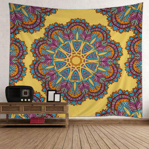 Mandala Polyester Fabric Wall Hanging Tapestry - COLORMIX W59 INCH * L79 INCH