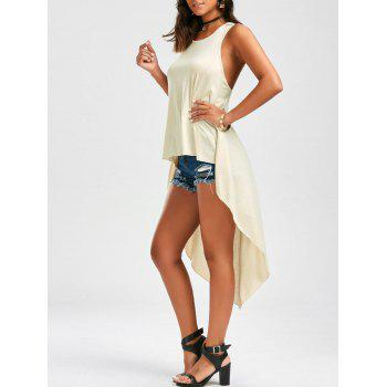 Tunic Asymmetric High Low Tank Top