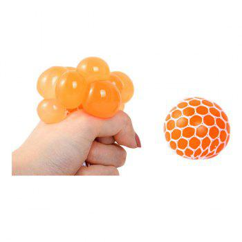 Random Vent Grape Ball Squishy Toy - RANDOM COLOR 5CM