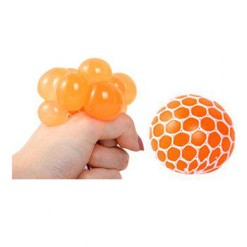 Random Vent Grape Ball Squishy Toy - RANDOM COLOR 7CM