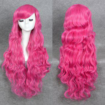 Side Bang Long Layered Wavy My Little Pony Cosplay Lolita Synthetic Wig