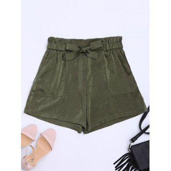 Self Tie Casual Shorts
