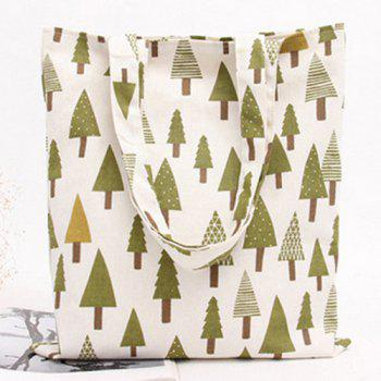 Canvas Print Shopper Bag